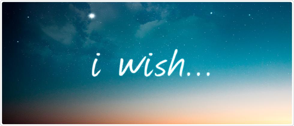 Wishlist (1/5)