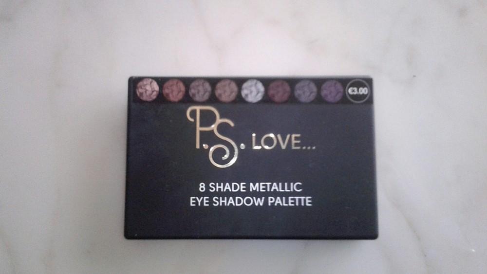 Palette 8 shade métallic Primark (1/2)